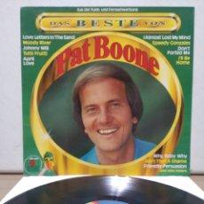 Discos de vinilo: PAT BOONE - THE BEST OF PAT BOONE 1982 ED ALEMANA CON ENCARTE. Lote 205594551