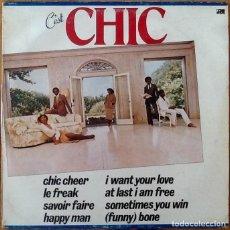 Discos de vinilo: CHIC : C'EST CHIC [FRA 1978] LP. Lote 205594848