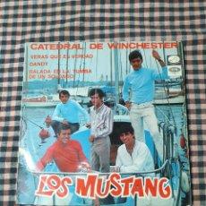 Discos de vinilo: LOS MUSTANG, VERAS QUE ES VERDAD, DANDY, CATEDRAL DE WINCHESTER, BALADA EN LA TUMBA DE UN SOLDADO.. Lote 205595712