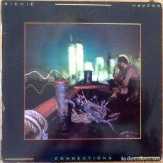 Discos de vinilo: RICHIE HAVENS : CONNECTIONS [ESP 1980] LP. Lote 205596000
