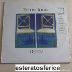 Discos de vinilo: ELTON JOHN - DUETS - 2XLP - POLYGRAM SPAIN 1993. Lote 205596443