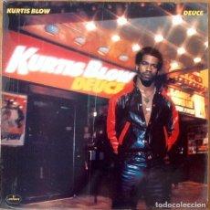 Discos de vinilo: KURTIS BLOW : DEUCE [ESP 1981] LP. Lote 205597240