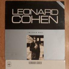 Discos de vinilo: 2 VINILOS LEONARD COHEN. Lote 205597323