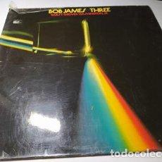 Discos de vinilo: LP - BOB JAMES – THREE - CTI 6063 ( VG+ / G+ ) GER 1976 - CARPETA. Lote 205597467