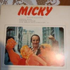 Discos de vinilo: MICKY. EXCELENTE.. Lote 205597678