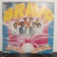 Discos de vinilo: BRAVO. RECOPILATORIO.1985. ALASKA, J. LUIS PERALES, YURI, OSBORNE, MARI TRINI, RAFFAELLA CARRA.... Lote 205598845