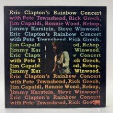 Discos de vinilo: ERIC CLAPTON'S - RAINBOW CONCERT - 1973 - RSO - MADE IN ENGLAND - 2394 116 SUPER. Lote 205598958