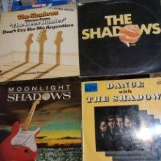 Discos de vinilo: 4 VINILOS DE THE SHADOWS.. Lote 205600418