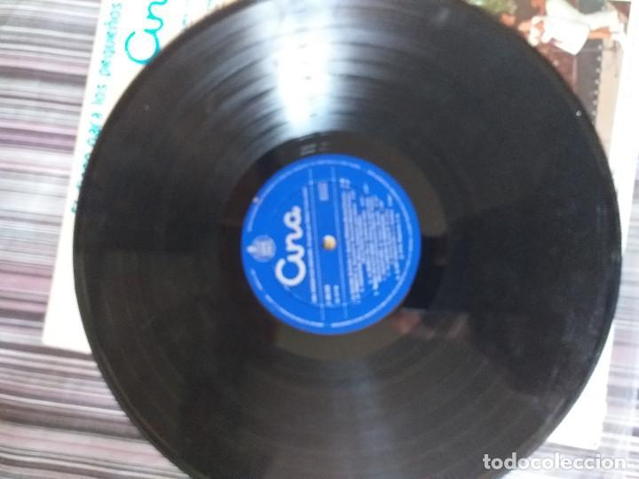 Discos de vinilo: VINILO CUENTOS INFANTILES ALI BABA CUARENTA LADRONES SOLDADITO PLOMO PULGARCITO GATO BOTAS - Foto 4 - 205602966