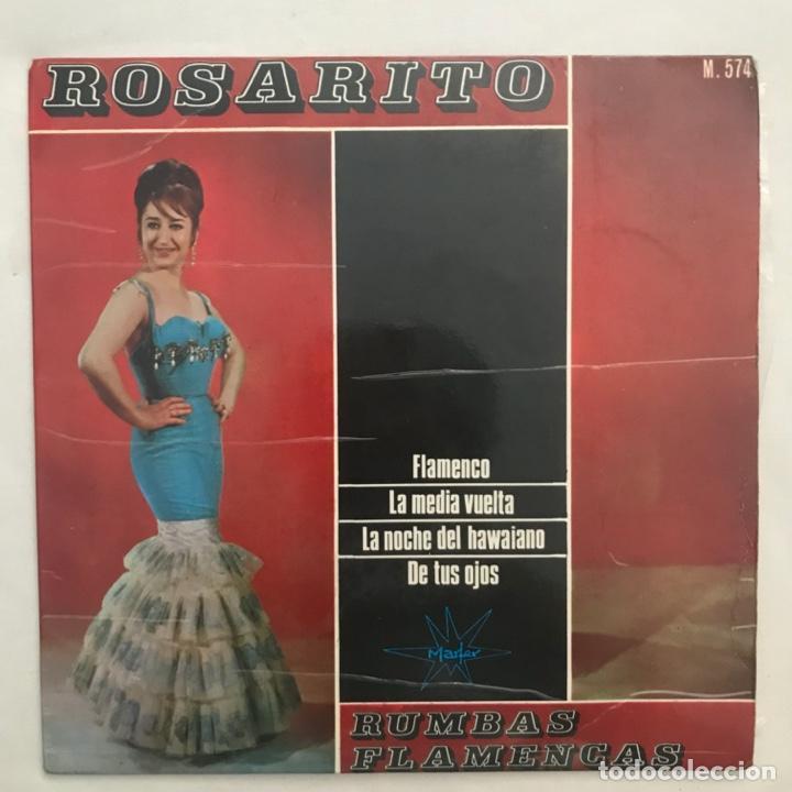 ROSARITO – FLAMENCO 1965 (Música - Discos de Vinilo - EPs - Flamenco, Canción española y Cuplé)