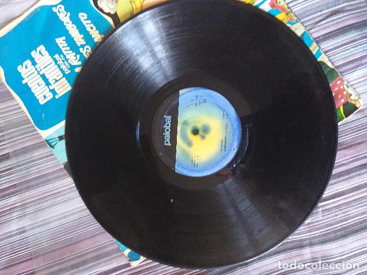 Discos de vinilo: VINILO CUENTOS INFANTILES LA RATITA LOS TRES TAMBORES GARBANCITO - Foto 3 - 205603495