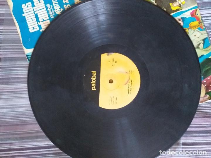 Discos de vinilo: VINILO CUENTOS INFANTILES LA RATITA LOS TRES TAMBORES GARBANCITO - Foto 4 - 205603495