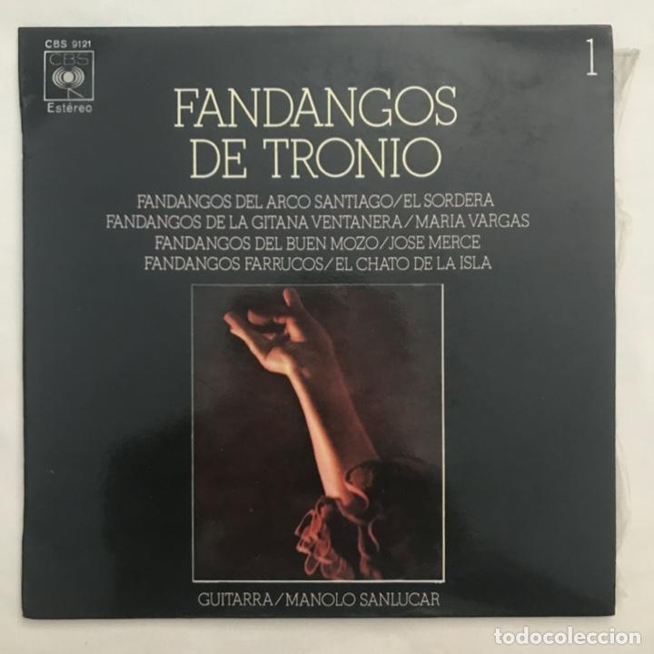 FANDANGOS DE TRONIO (Música - Discos de Vinilo - EPs - Flamenco, Canción española y Cuplé)