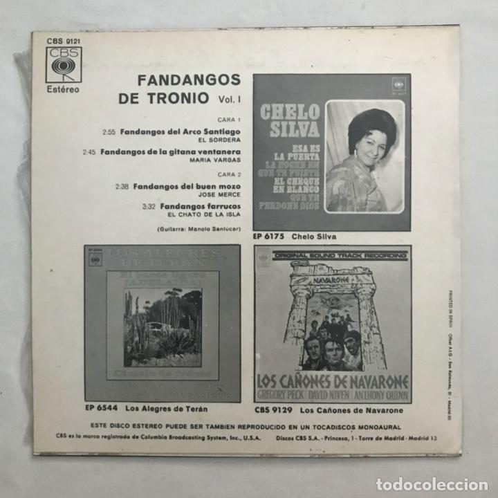 Discos de vinilo: Fandangos De Tronio - Foto 2 - 205603815