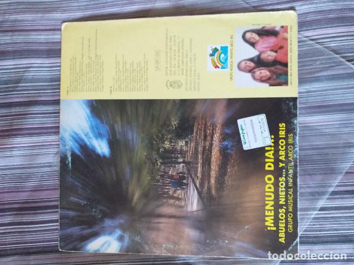 Discos de vinilo: VINILO ARCO IRIS ¡MENUDO DÍA! ABUELOS NIETOS.... - Foto 2 - 205604030