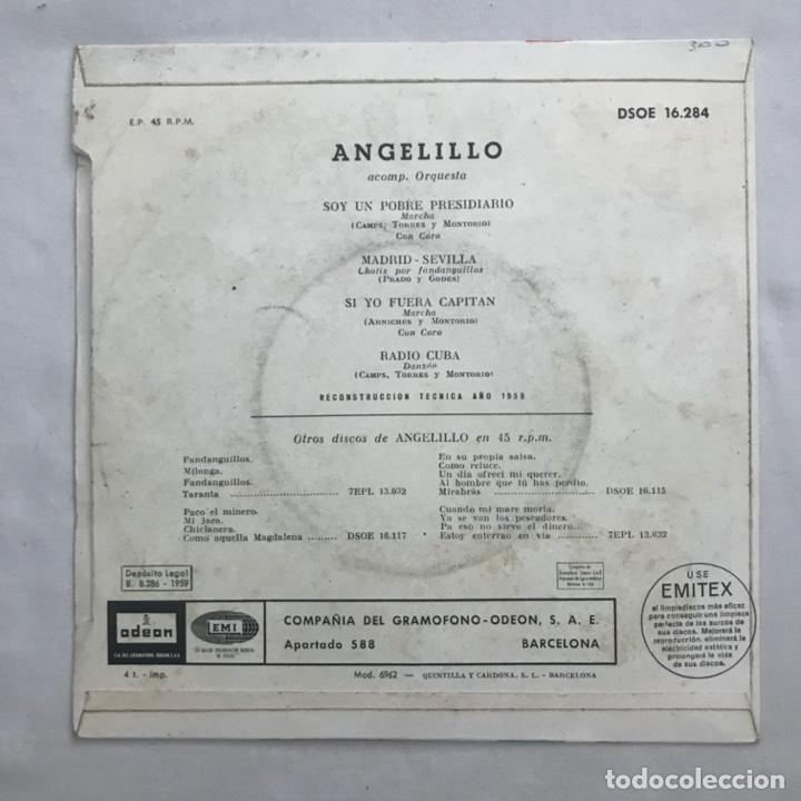 Discos de vinilo: Angelillo – Asi Canta... 1959 - Foto 2 - 205604060