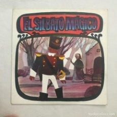 Discos de vinilo: ANTONIO HURTADO – EL SILBATO MÁGICO 1968. Lote 205604227