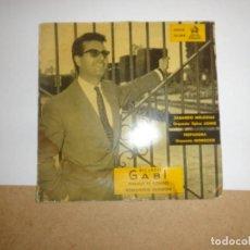 Discos de vinilo: DISCO DE VINILO RICARDO GABI.- 45 RPM. Lote 205604285