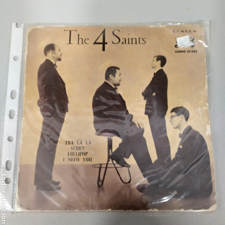 THE 4 SAINTS (Música - Discos - Singles Vinilo - Canción Francesa e Italiana)