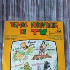 Discos de vinilo: VINILO TEMAS INFANTILES DE TV LA ABEJA MAYA ORZOWEI TELEÑECOS ESPACIO 1999 MAZINGER Z. Lote 205604885