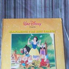 Discos de vinilo: VINILO INFANTIL BSO BLANCANIEVES Y LOS SIETE ENANITOS WALT DISNEY 1991. Lote 205605818