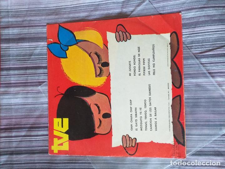Discos de vinilo: VINILOTVE 5º FESTIVAL DE LA CANCIÓN INFANTIL 1973 - Foto 2 - 205606003