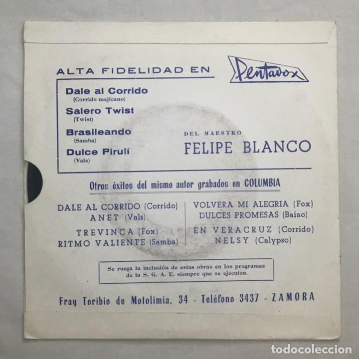 Discos de vinilo: Felipe Blanco – El Maestro Felipe Blanco 1969 - Foto 2 - 205606010