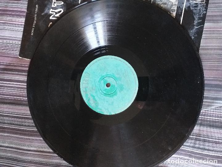 Discos de vinilo: VINILO CUENTOS TEATRO INVISIBLE RADIO NACIONAL BARCELONA J. M. SORIANO 1969 - Foto 4 - 205606070