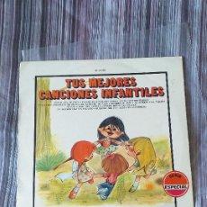 Discos de vinilo: VINILO TUS MEJORES CANCIONES INFANTILES MOVIE PLAY 1972 CORO INFANTIL LA TREPA. Lote 205606235
