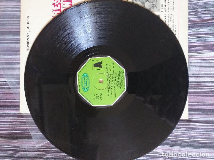 Discos de vinilo: VINILO TUS MEJORES CANCIONES INFANTILES MOVIE PLAY 1972 CORO INFANTIL LA TREPA - Foto 3 - 205606235