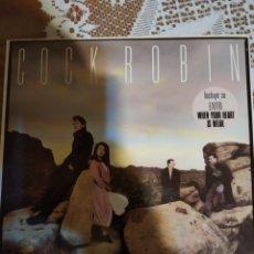 Discos de vinilo: COCK ROBÍN. EXCELENTE.. Lote 205611067