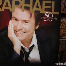 Discos de vinilo: RAPHAEL 50 AÑOS DESPUES DUETOS CON SERRAT / BUNBURY / ROCIO JURADO / ROCIO DURCAL / ETC..... Lote 205646480