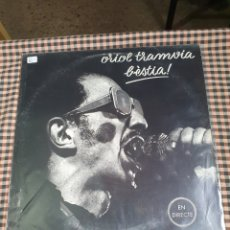 Discos de vinilo: ORIOL TRAMVIA – BÈSTIA!, EDIGSA – UM-2034, 1977, GÉNERO: ROCK ESTILO: ALTERNATIVE ROCK.. Lote 205649320