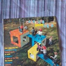 Discos de vinilo: VINILO CANCIONES PARA NIÑOS CHIPI CHAPA CHIP CHIP ETC 1973. Lote 205649907