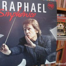 Discos de vinilo: RAPHAEL SINPHONICO LP + CD // YO SIGO SIENDO AQUEL / TEMA DE AMOR / ENAMORADO DE LA VIDA / ..... Lote 205650273
