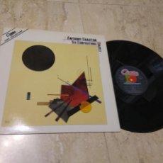 Discos de vinilo: ANTHONY BRAXTON – SIX COMPOSITIONS: QUARTET-ESPAÑA-1982-ANTILLES – 1-205108- FREE JAZZ, CONTEMPORA. Lote 205655440