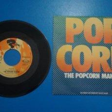 Discos de vinilo: SINGLE DE VINILO POPCORN THE POPOCORN MAKERS AÑO 1972. Lote 205657477