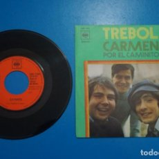 Discos de vinilo: SINGLE DE VINILO TREBOL CARMEN POR EL CAMINO AÑO 1971. Lote 205657556