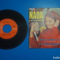 Discos de vinilo: SINGLE DE VINILO NADA LA GOLONDRINA AÑO 1959. Lote 205657848