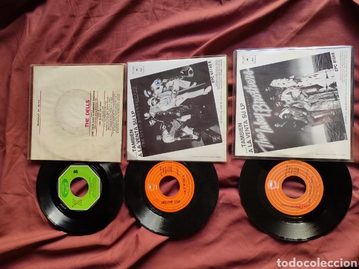 Discos de vinilo: THE ISLEY BROTHERS + THE DELLS 3 SINGLES ESPAÑOLES - Foto 2 - 205657985