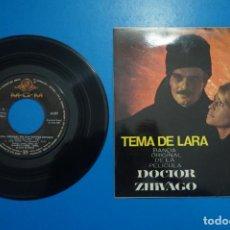 Discos de vinilo: SINGLE DE VINILO DOCTOR ZHIVAGO TEMA DE LARA AÑO 1966. Lote 205658802