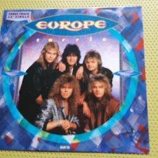 "Discos de vinilo: EUROPE -CARRIE- (1987) MAXI-SINGLE 12"". Lote 205659141"