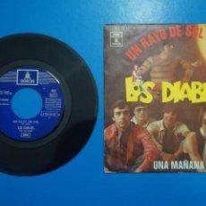 Discos de vinilo: SINGLE DE VINILO LOS DIABLOS UN RAYO DE SOL AÑO 1970. Lote 205659497