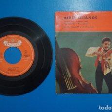 Discos de vinilo: SINGLE DE VINILO AIRES GITANOS THE ONLY GIRL AÑO 1959. Lote 205659885