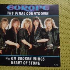 """Discos de vinilo: EUROPE -THE FINAL COUNTDOWN- (1986) MAXI-SINGLE 12"""". Lote 205661417"""