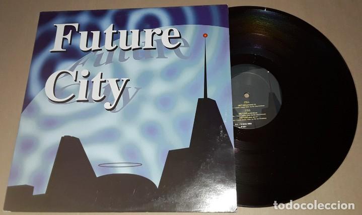 MAXI SINGLE - FUTURE CITY - ONLY LOVE - FUTURE CITY (Música - Discos de Vinilo - Maxi Singles - Disco y Dance)
