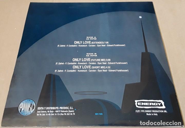 Discos de vinilo: MAXI SINGLE - FUTURE CITY - ONLY LOVE - FUTURE CITY - Foto 2 - 205661536