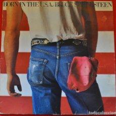 Discos de vinilo: BRUCE SPRINGSTEEN - BORN IN THE U.S.A. - LP DE VINILO. Lote 205663296