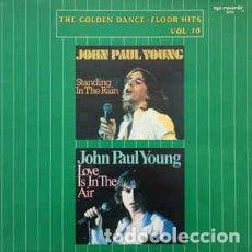 Discos de vinilo: JOHN PAUL YOUNG – THE GOLDEN DANCE-FLOOR HITS VOL. 10. Lote 205665431