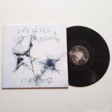 Discos de vinilo: JON ULECIA & CANTINA BIZARRO. STRIPTEASE. LP. VINILO NEGRO. 2019. NUEVO Y PRECINTADO. Lote 205666582